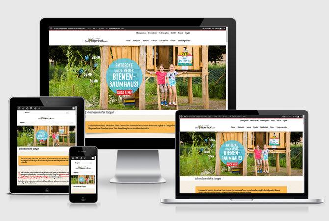 Sonnenhof - Webdesign Stuttgart