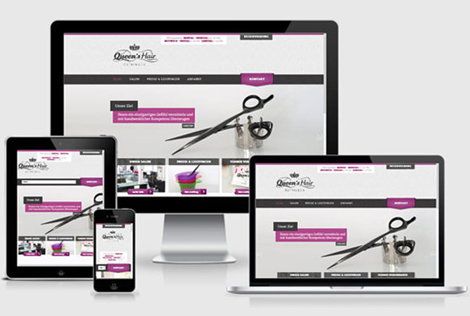 Webdesign Friseursalon