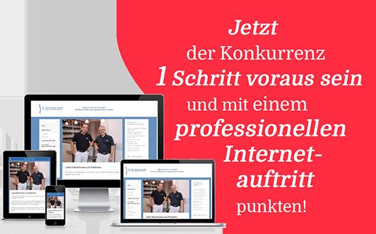 Homepage Internetauftritt
