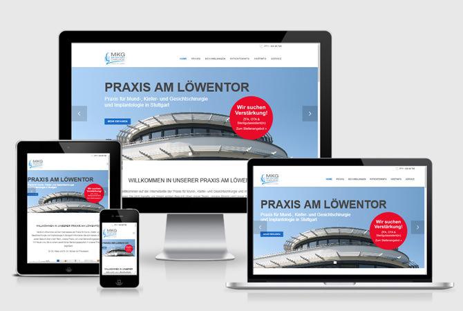 Homepage Website erstellen lassen Arzt Praxis