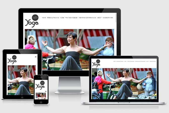 Webdesign Stuttgart Yoga