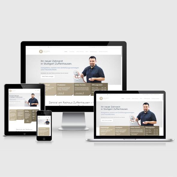 Homepage erstellen lassen für Zahnarztpraxis