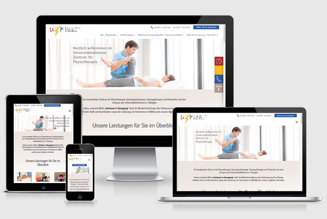 Webdesign Physiotherapie Stuttgart